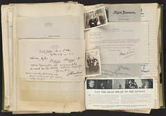 Harry Houdini Scrapbook [Photographs with Jack London]