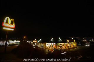McDonald's says goodbye to Iceland