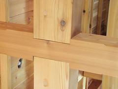 Les charpentes japonaises nature construction - Assemblage bois japonais ...