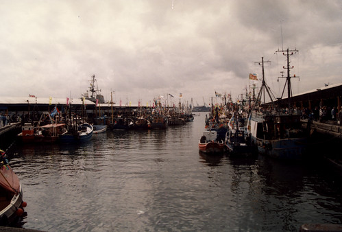 Fish Quay North Shields 1990s