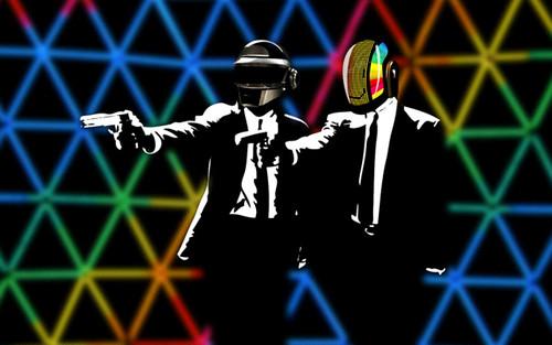 Daft Punk vs Pulp Fiction