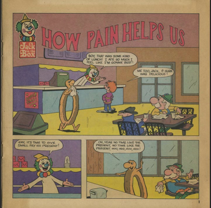Jack In The Box Comix - How Pain Helps Us - Volume 3 (1970's)