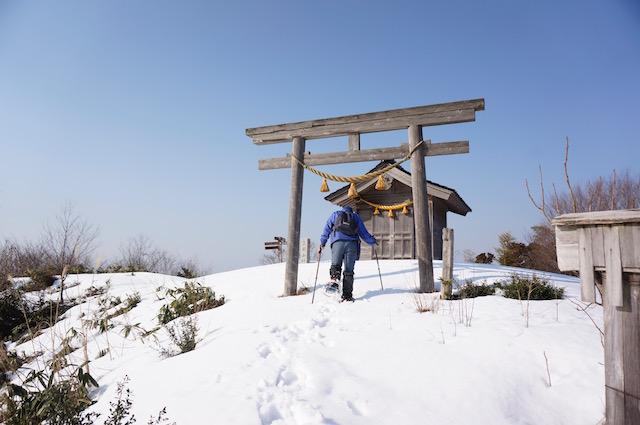 三国山アタック 冬 その2