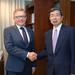 President meets GCF Executive Director