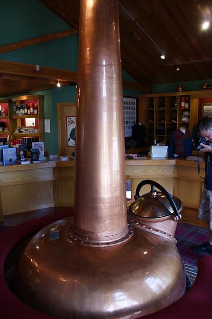 Glenfarclas Distillery - Old still inside visitor's centre