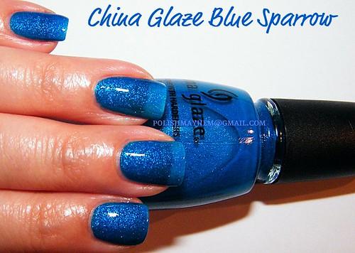 China Glaze Blue Sparrow