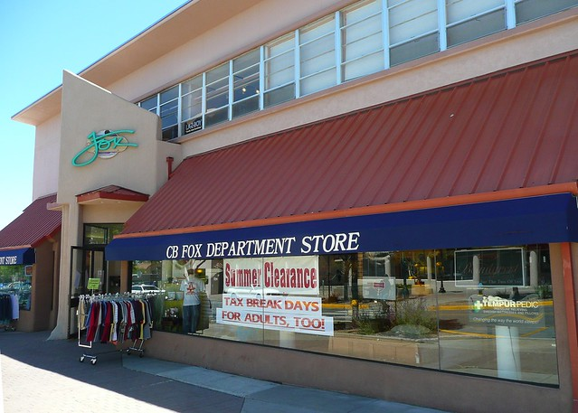 los alamos nm cb fox department store clemment and