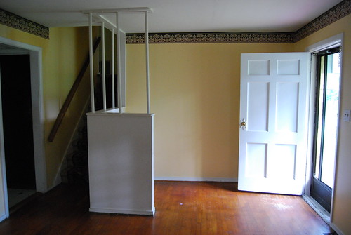 "The front door and ""foyer"""