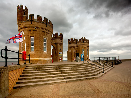 Withernsea Pier Towers.