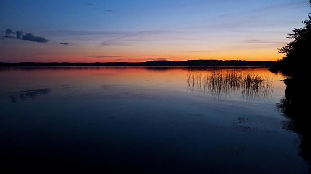 Sunset in Rånäs, Pyhtää