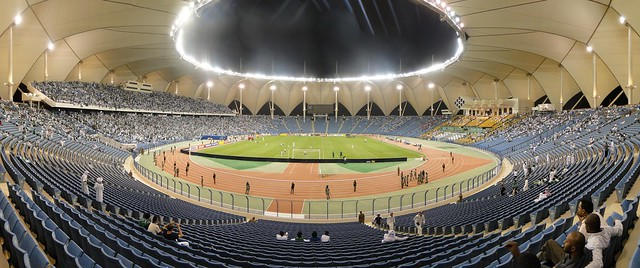 King Fahad int. Stadium - Panorama