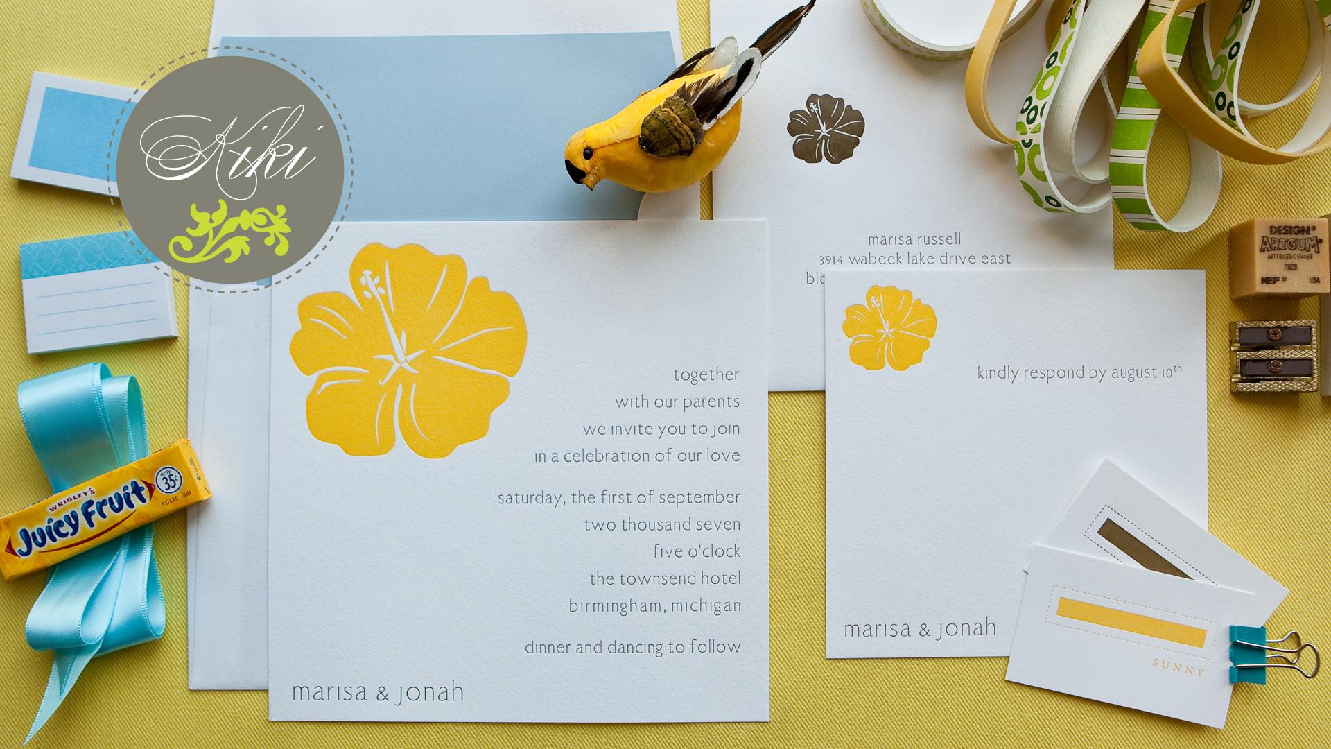 40 Unique Wedding Invitation Designs - DzineBlog.com