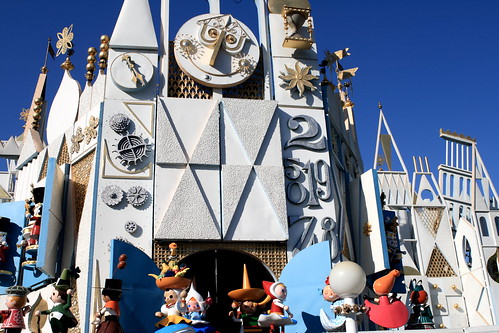 It's A Small World is a ride suitable for small children.