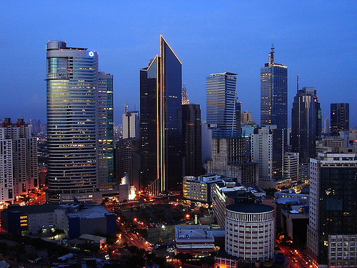 Philippine skyline a gallery on flickr makati city metro manila philippines sciox Image collections