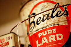 Beale's Open Kettle Rendered Pure Lard