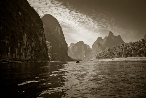 Along the Li Jiang (Li River), China