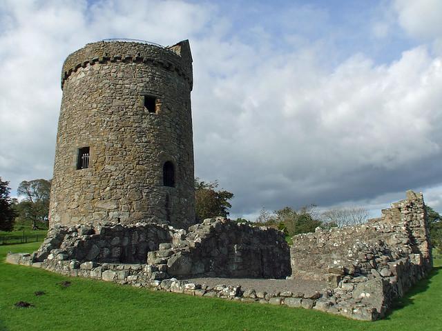 231 Original unique round tower & later buildings