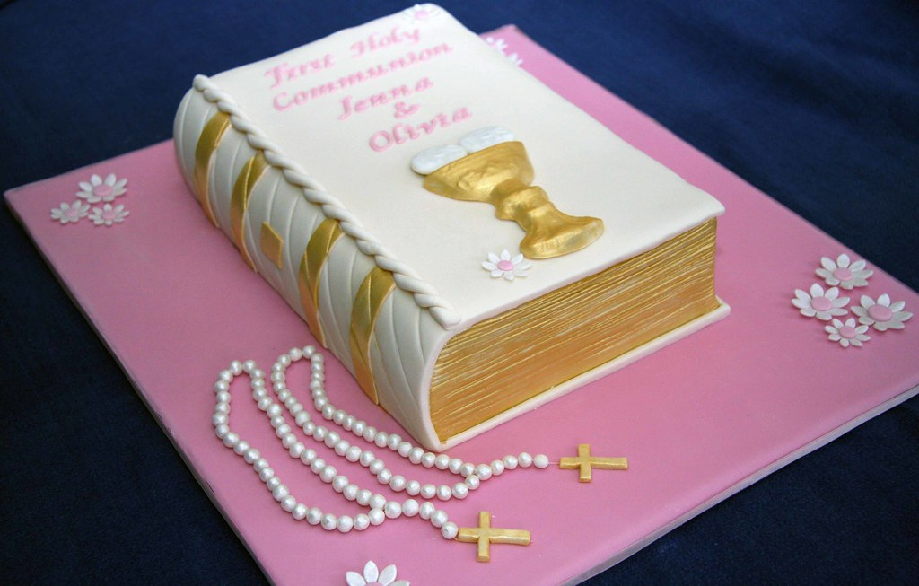 Holy Communion Cake - a photo on Flickriver