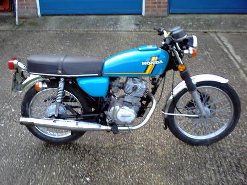 Honda CB125 1977