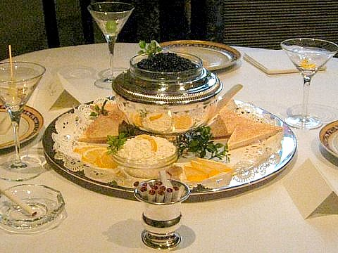 Sourcing the best caviar makes the occasion really special
