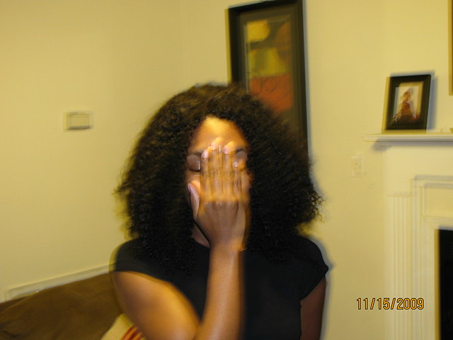 Afro Kinky Sew In http://www.flickr.com/photos/dehairpix/4194769972/