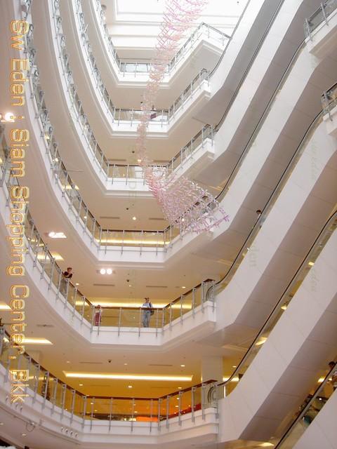 Central World, Thailand โถงกลางห้างสรรพสินค้า