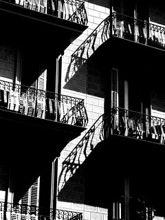 interlocking balconies