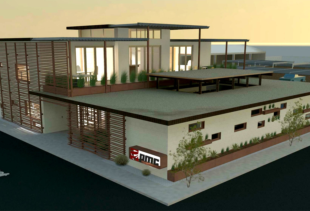 Pmc office building renovation because we can for Small commercial building plans