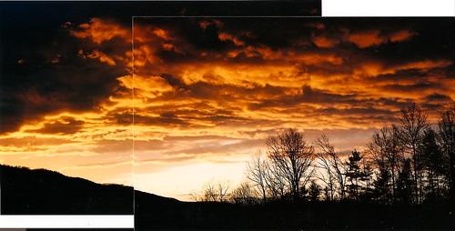 sunset film analog geotagged expired nikonn80 klick rainingatsunset