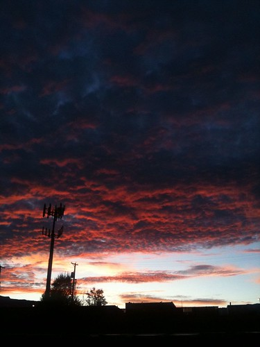 mountains apple clouds sunrise skies albuquerque august
