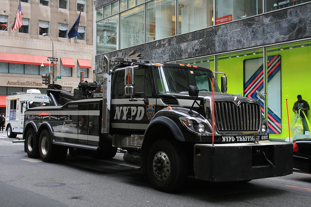 Towed Car Finder >> NYPD Tow Truck | Flickr - Photo Sharing!