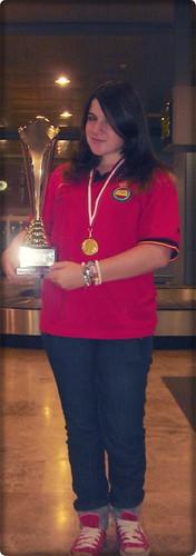 Campeona de Europa. Cristina Muñoz