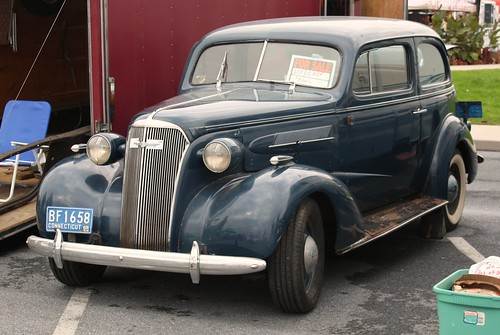 This 1937 Chevrolet Master Twodoor Sedan Was Bought New By