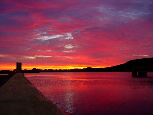 morning sunset canada nature ferry sunrise newfoundland landscape early view natural argentia