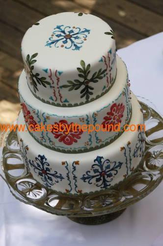 Mexican Wedding Pound Cake