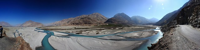 Shyok in Nubra