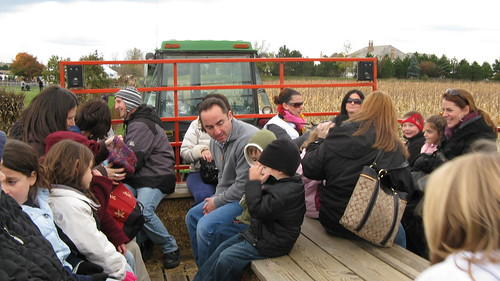The Wagon Ride at Goebert's Farmstand. Barrington Illinois. October 2009. by Eddie from Chicago
