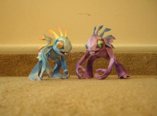 papercraft-creatures