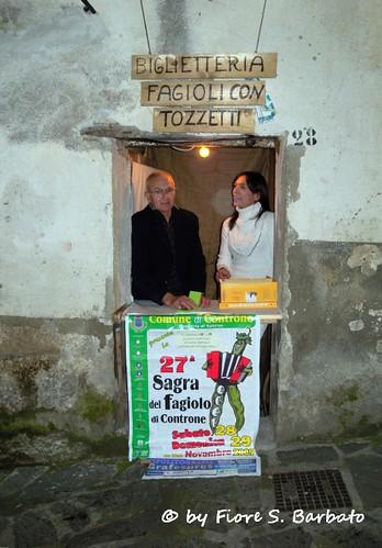 Controne (SA), 2009, XXVII sagra del fagiolo di Controne.