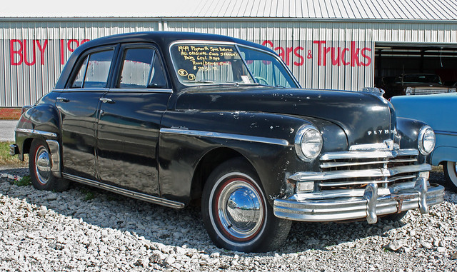 1949 plymouth special deluxe 4 door sedan 2 of 8 for 1949 plymouth 4 door
