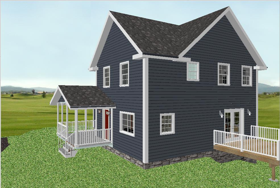 Unsure About Siding Have Pics Of Dark Grey