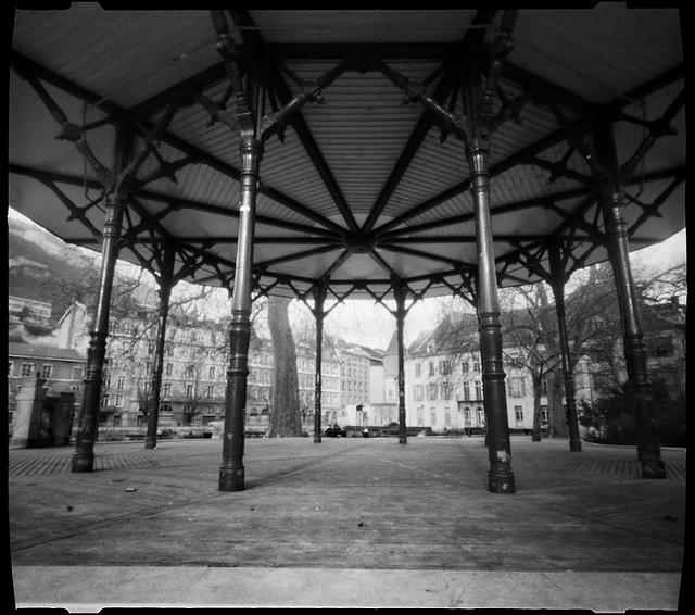 Le kiosque musique du jardin de ville 1 2 grenoble flickr photo shar - Creche jardin de ville grenoble ...