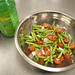 Green bean salad with cherry tomatoes