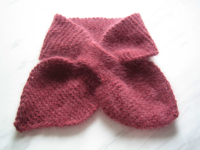 Knitting Pattern Bow Knot Scarf : Bow-Knot Scarf by Katherine Burgess Flickr - Photo Sharing!
