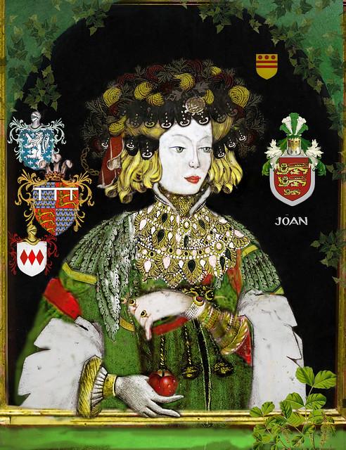 Joan de Kent the fair maiden