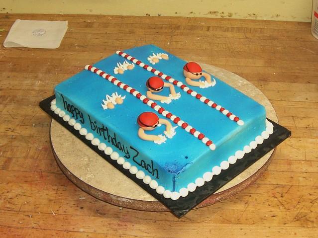 Swimming Pool Cake Ideas : Swim race flickr photo sharing