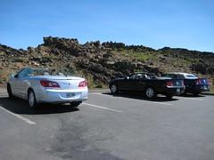 Haleakala National Park, Maui: Kalahaku Overlook - Parking Lot
