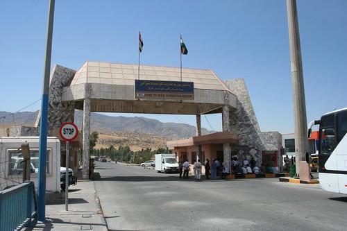 Fronteira da Iraque na Região do Curdistão