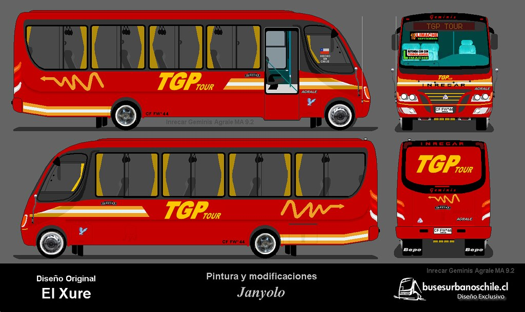 Tgp on bus