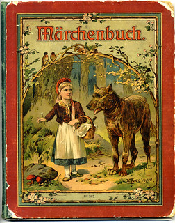 Märchenbuch - German language book of children's fairy tales 1919